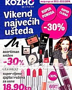 Kozmo katalog Vikend do 23.3.