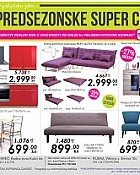 Mima namještaj katalog Predsezonske super cijene