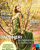 Avenue Mall magazin travanj