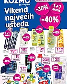Kozmo katalog Vikend uštede do 6.4.