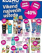 Kozmo katalog vikend ušteda do 20.4.
