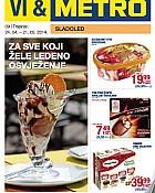 Metro katalog Sladoledi