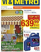 Metro katalog Uradi sam do 21.5.