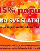 Muller slatkiši -15% popusta