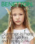 Benetton katalog Kids ljeto 2014
