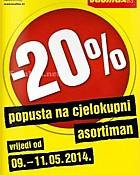 Baumax popust 20% na sve
