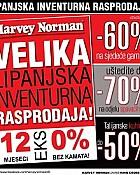 Harvey Norman katalog Lipanjska rasprodaja 2014