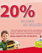 Muller akcija -20% popusta na igračke