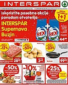 Interspar katalog Buzin Supernova