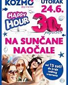 Kozmo Happy Hour 17.6.