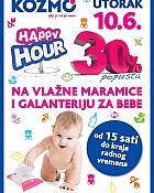 Kozmo utorak Happy Hour 10.6.
