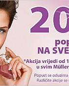 Muller akcija -20% popusta na mirise