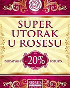 Roses Outlet Super utorak 17.6.
