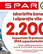 Spar knižica kupona do 15.7.
