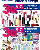 Kozmo vikend akcija do 5.7.