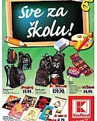 Kaufland katalog Škola 2014