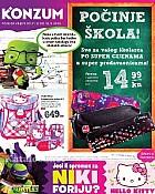 Konzum katalog Škola 2014