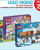 Baby Center vikend akcija Lego -20%
