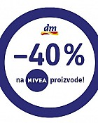 DM vikend akcija -40% Nivea