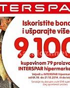 Interspar katalog Knjižica kupona listopad 2014