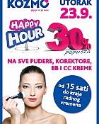 Kozmo Happy Hour 23.9.