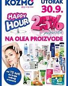 Kozmo Happy Hour 30.9.