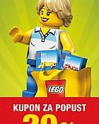 Lego kupon -20% popusta