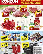 Konzum vikend akcija do 12.10.