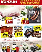 Konzum vikend akcija do 19.10.