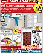 Lesnina katalog Rasprodaja listopad 2014