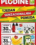 Plodine katalog Tjedan senzacionalnih ponuda