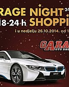 West Gate noćni shopping Garage show