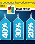 King Cross popusti povodom otvorenja Decathlon trgovine