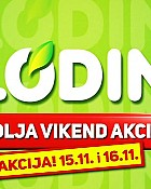 Plodine vikend akcija do 16.11.