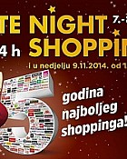West Gate noćni shopping popusti do 9.11.