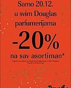 Douglas akcija -20% popusta na sve