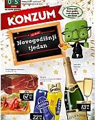 Konzum katalog Novogodišnji tjedan