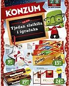 Konzum katalog Tjedan slatkiša i igračaka