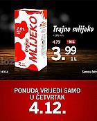 Lidl akcija mlijeko