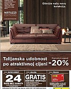 Lesnina katalog Natuzzi siječanj 2015