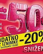 Mass dodatni -20% na sve gležnjače i čizme