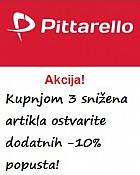 Pittarello akcija -10% na snižene artikle