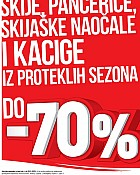 Intersport do -70% popusta na skijašku opremu