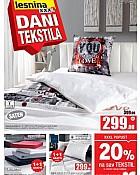 Lesnina katalog Dani tekstila