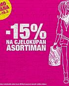 Bipa akcija -15% na cjelokupan asortiman