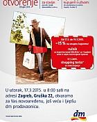 DM katalog Otvorenje Gruška, Savica
