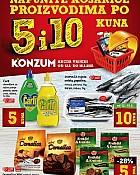 Konzum katalog Sve po 5 i 10kn