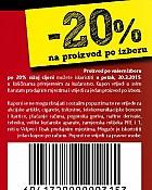 Konzum kupon -20%