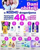Kozmo katalog Dani obitelji do 7.4.