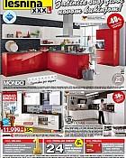 Lesnina katalog kuhinje do 25.4.